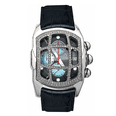 Aqua Master Watches Mens Diamond Bubble Watch 1.75ct