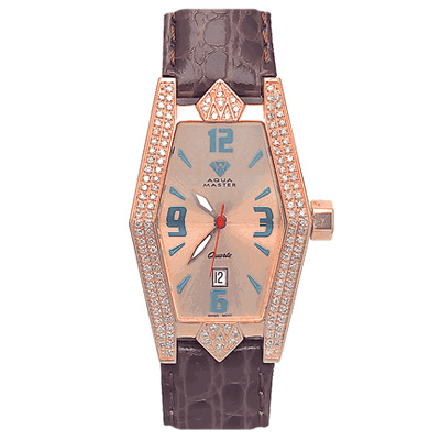 Aqua Master Watches Womens Pave Diamond Watch 1.50ct Aqua Master Watches Womens Pave Diamond Watch 1.50ct