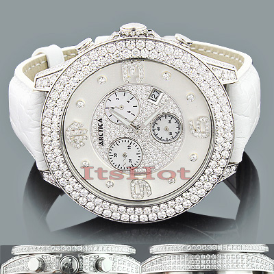 Arctica VS Diamond Watches: Mens Luxury Watch 11.75ct
