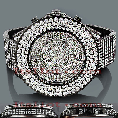 Arctica Watches Mens Diamond Iced Out Watch 45.00ct