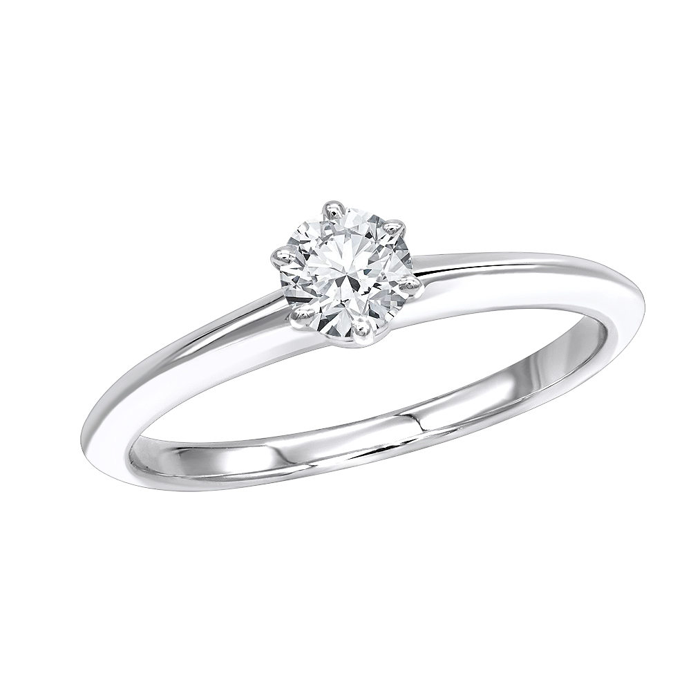7e176a22d Authentic Tiffany & Co Platinum Diamond Engagement Ring 0.32ct Main Image