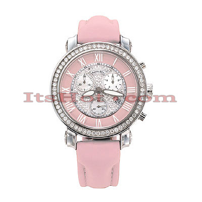 Benny and Co Watch Diamond Womens Watch 1.5ct Pink