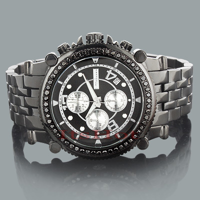 BLACK DIAMOND WATCHES: Jojino Mens Diamond Watch 2.25ct Main Image