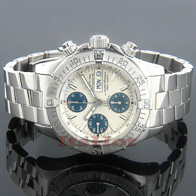 Breitling Aeromarine Chrono Superocean Mens Watch Main Image