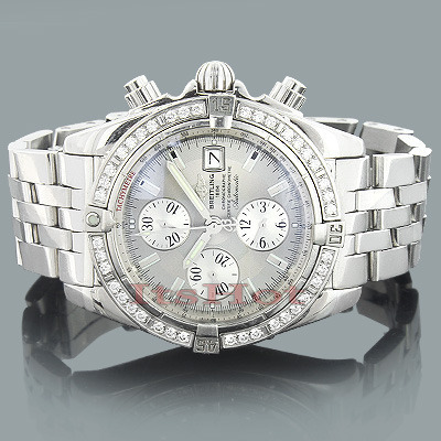 Breitling Diamond Watch Windrider A13356 Chronomat Evolution 1.14ct  breitling-diamond-watch-windrider-a13356-chronomat-evolution-114ct_1