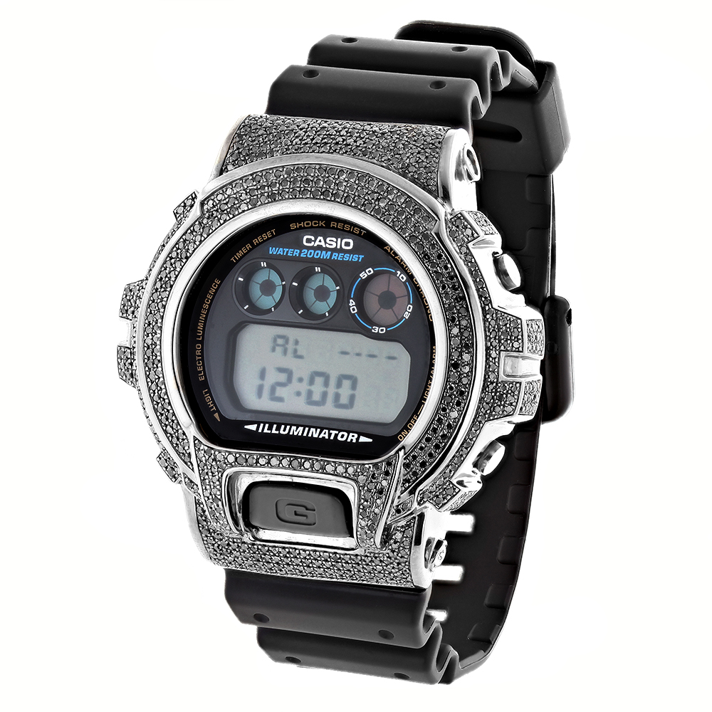 Casio G-Shock Black Diamond Watch DW6900 3.5ct casio-g-shock-black-diamond-watch-dw6900-35ct_1