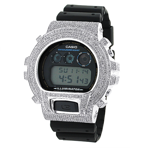 Casio G-Shock Diamond Watch 6ctw. DW-6900