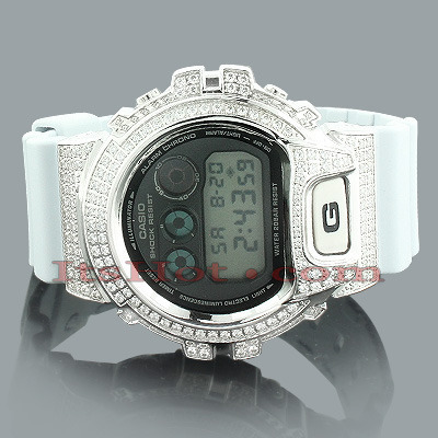 Casio G-Shock Watch with Crystals Main Image