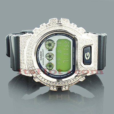 Casio Watches: GShock Watch with Crystals Casio Watches: GShock Watch with Crystals