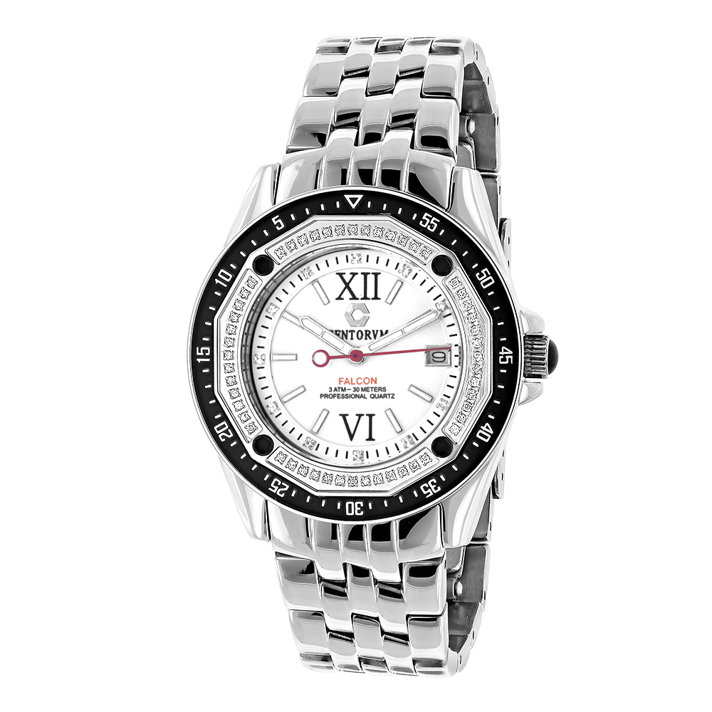 Centorum Falcon Diamond Watch 0.5ct Midsize Model Main Image