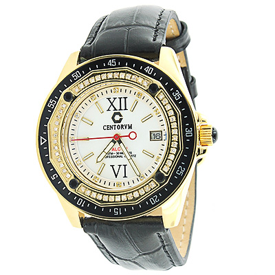 Centorum Falcon Watch with Diamonds 0.5ct Midsize