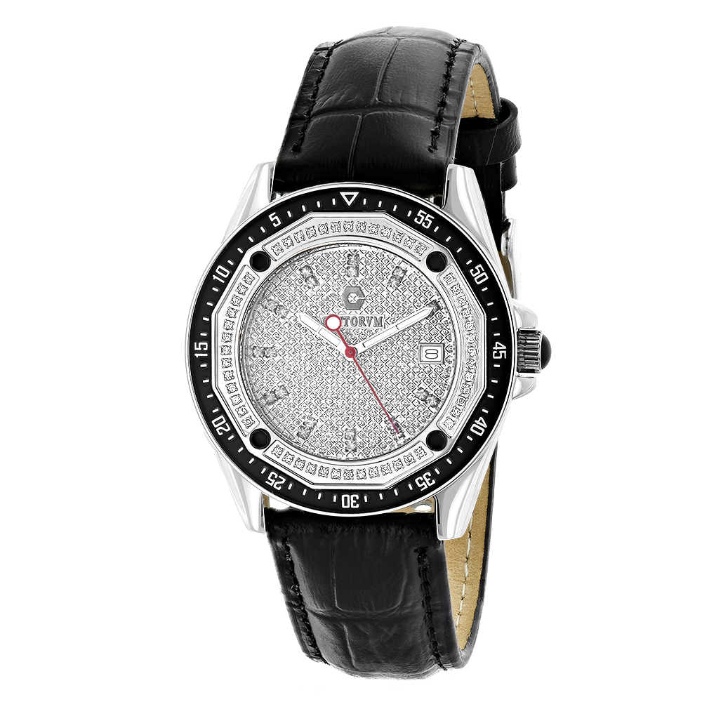 Centorum Watches: Designer Diamond Watch 0.50ct