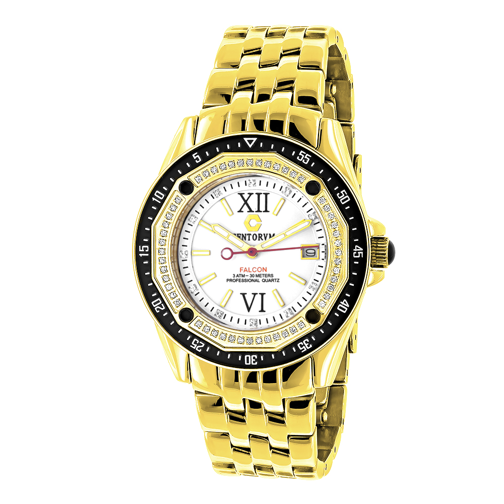 Centorum Watches: Midsize Falcon Diamond Watch 0.5ct Main Image