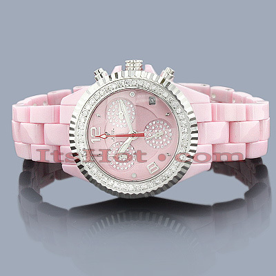 Ceramic Watches Aqua Master Diamond Watch 1.25ct Rose
