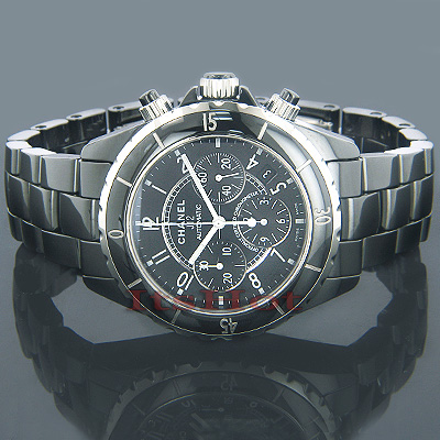 Chanel J12 Automatic Ceramic Chronograph Watch Main Image