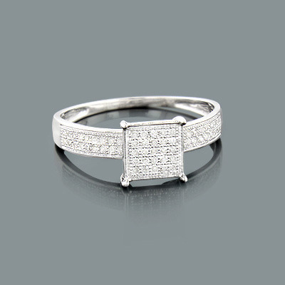 cheap engagement rings real ring in silver 025ct 1 jpg