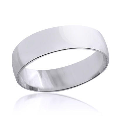 rings gold band thin classic mens wedding