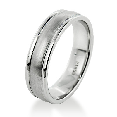 Comfort Fit Platinum Wedding Band for Men - Custom Made comfort-fit-platinum-wedding-band-for-men-custom-made_1