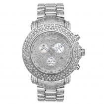 Oversized Joe Rodeo Junior Fully Iced Out Diamond Watch for Men 21ct