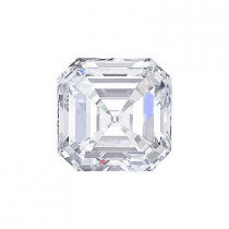 0.73CT. ASSCHER CUT DIAMOND H VVS2