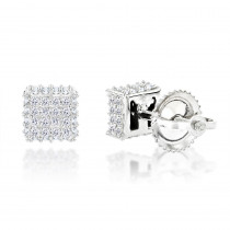 10K Gold Diamond Stud Earrings 0.33ct