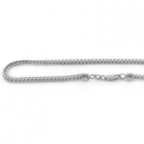 10K Mens Solid Gold Franco Chain 26in-40in., 3mm