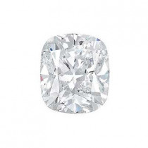 1.34CT. CUSHION CUT DIAMOND F VS2