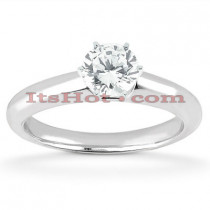 14K Diamond Solitaire Engagement Ring 0.50ct