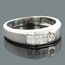 14K Diamond Wedding Bands Collection Item 0.43ct