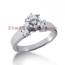14K Gold Diamond Designer Engagement Ring 0.66ct