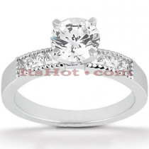 14K Gold Diamond Designer Engagement Ring 0.68ct