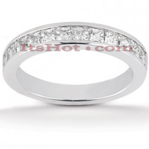 Thin 14K Gold Diamond Designer Engagement Ring Band 0.60ct