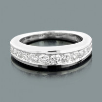 14K Gold Diamond Designer Engagement Ring Band 0.65ct