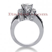 14K Gold Diamond Engagement Ring 1.03ct