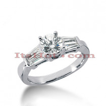 14K Gold Diamond Authentic Engagement Ring Mounting 0.56ct