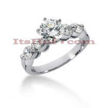 14K Gold Diamond Engagement Ring Mounting 0.60ct