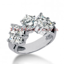 14K Gold Diamond Engagement Ring Mounting 2.16ct
