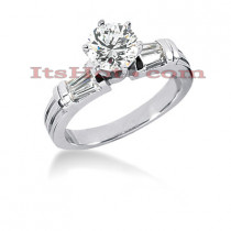14K Gold Diamond Engagement Ring Setting 0.40ct