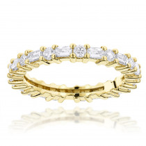 14K Gold Diamond Eternity Band 1.56ct