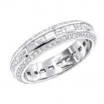 14K Gold Diamond Eternity Ring 2.50ct
