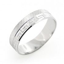 14K Gold Embellished Wedding Band for Men