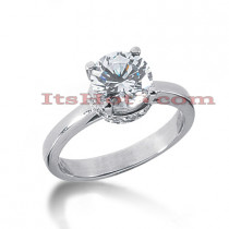 14K Gold Engagement Ring Setting 0.24ct