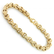 14K Gold Eternity Diamond Bracelet 8.5ct