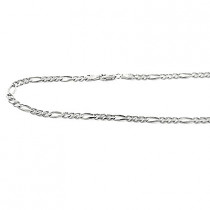 14K Gold Figaro Chains Collection Item 4mm, 20in - 40in