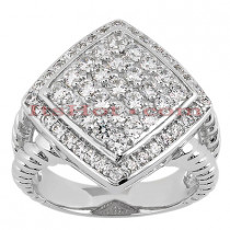 14K Gold Ladies Diamond Ring 1.07ct