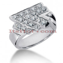 14K Gold Ladies Diamond Ring 1ct