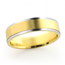 14K Gold Mens Cosmopolitan Thin Wedding Band