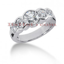 14K Gold Round Diamond Ladies Ring 2.50ct