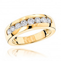 14K Gold Womens Diamond Wedding Ring 0.5 ct