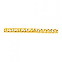 14K Solid Yellow Gold Miami Cuban Link Chain 8mm 20in - 40in